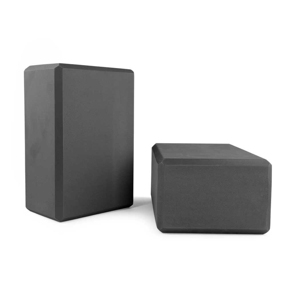 blocchi di schiuma yoga nero nu-source
