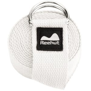 reehut yoga sangle a-blanc
