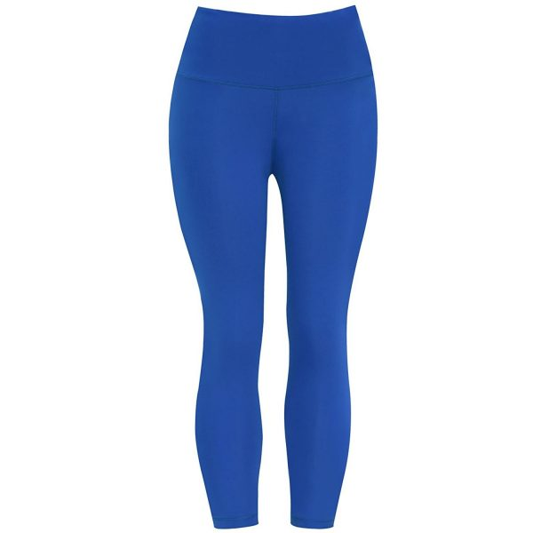 cobalt blue bubblelime womens high waist yoga pants