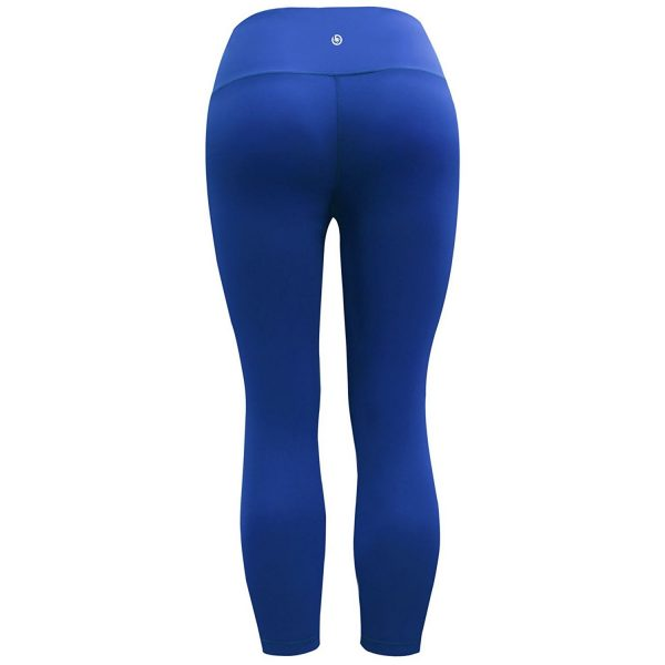 bubblelime cobalt blue womens high waist yoga pants
