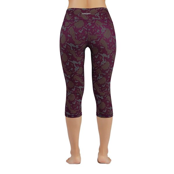 ododos power flex womens printed camouflage yoga pants