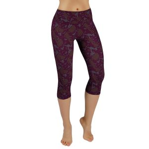 ododos power flex womens printed yoga pants camouflage