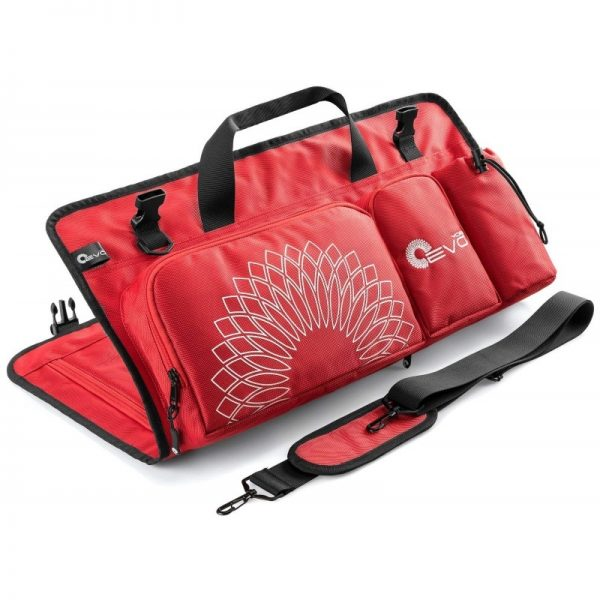 detailed view of a yoga evo open end yoga mat bag